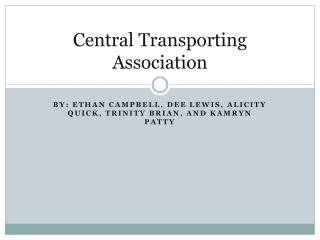 Central Transporting Association