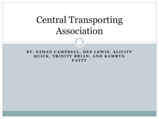 Central Transporting Association