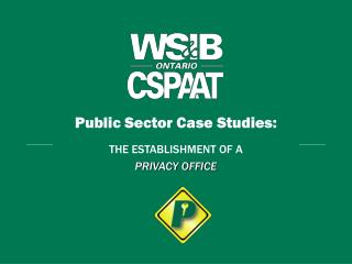 Public Sector Case Studies: