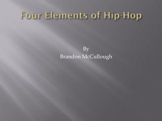 Four Elements of Hip-Hop