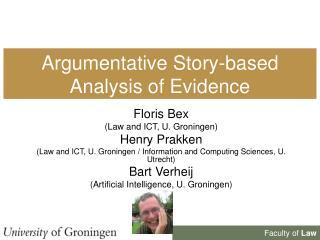 Argumentative Story-based Analysis of Evidence