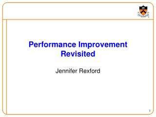 Performance Improvement Revisited