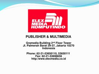 PUBLISHER & MULTIMEDIA