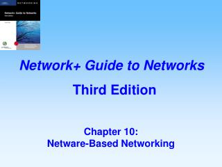 Chapter 10:   Netware-Based Networking