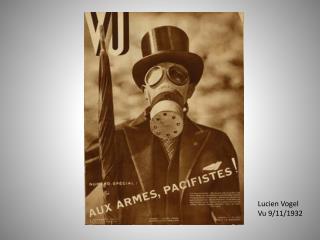 Lucien  Vogel Vu 9/11/1932