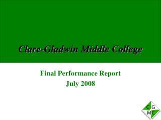 Clare-Gladwin Middle College