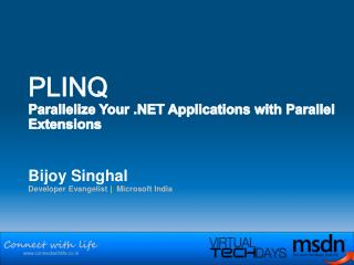 PLINQ Parallelize Your .NET Applications with Parallel Extensions