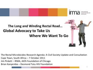 The Rectal Microbicides Research Agenda: A Civil Society Update and Consultation