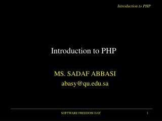 PHP   Database Operations