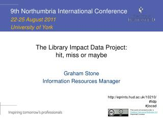 The Library Impact Data Project:  hit, miss or maybe