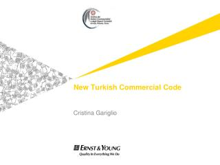 New Turkish Commercial Code