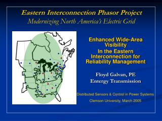 Enhanced Wide-Area Visibility In the Eastern Interconnection for Reliability Management