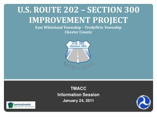 TMACC Information Session January 24, 2011
