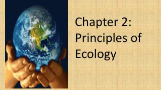 Chapter 2:  Principles of Ecology