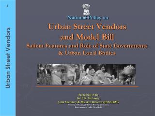 Presentation by  Dr. P.K. Mohanty, Joint Secretary & Mission Director (JNNURM)