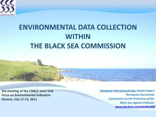 Environmental Data collection  within  The Black Sea Commission
