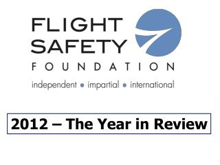 2012 – The Year in Review
