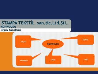 STAMPA TEKSTİL  san.tic.Ltd.Şti. NONWOVEN  ürün tanıtımı