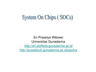 Eri Prasetyo Wibowo Universitas Gunadarma eri.staffsite.gunadarma.ac.id