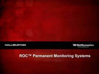 ROC  Permanent Monitoring Systems