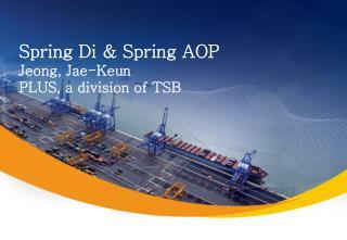 Spring Di & Spring AOP Jeong, Jae-Keun PLUS, a division of TSB
