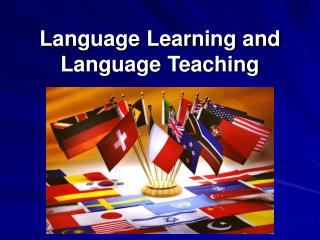 Language Learning and Language Teaching