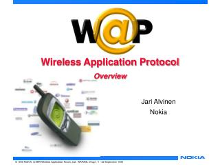 Wireless Application Protocol Overview