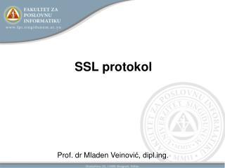 SSL protokol
