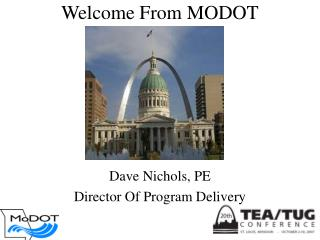 Welcome From MODOT