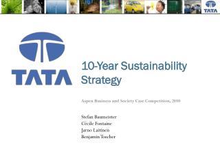 10-Year Sustainability Strategy