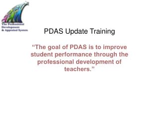 PDAS Update Training
