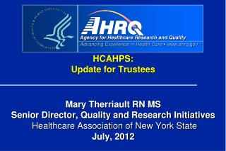 HRET Curriculum:  A New Way of Thinking about HCAHPS