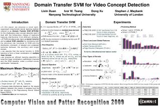 Domain Transfer SVM for Video Concept Detection