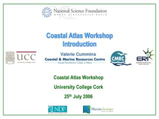 Coastal Atlas Workshop Introduction