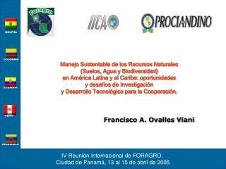 Manejo Sustentable de los Recursos Naturales  (Suelos, Agua y Biodiversidad)