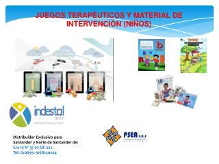 Distribuidor Exclusivo para Santander y Norte de Santander de: Cra 19 N° 35-02 Of. 222