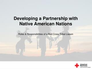 Developing a Partnership with Native American Nations