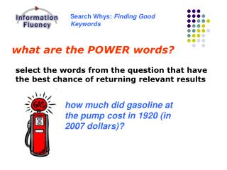 what are the POWER words?
