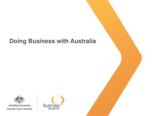 Doing Business with Australia