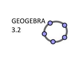 GEOGEBRA 3.2