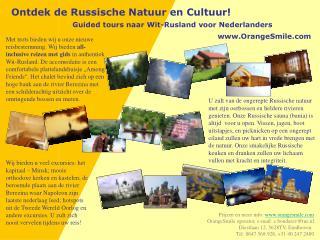 Ontdek de Russische Natuur en Cultuur!