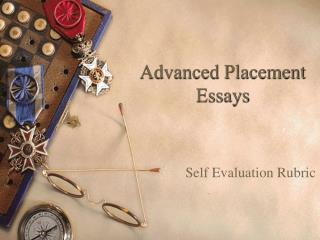 Advanced Placement Essays