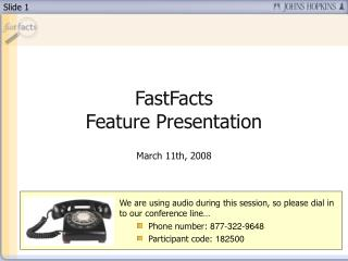 ZSR Fast Facts PowerPoint Presentation