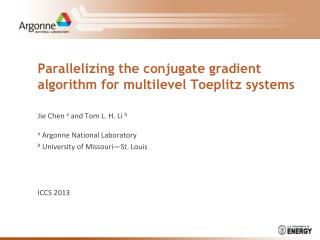 Parallelizing the conjugate gradient algorithm for multilevel  Toeplitz  systems