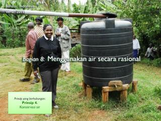 Bagian  8: Menggunakan  air  secara rasional