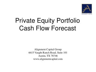 Alignment Capital Group 6615 Vaught Ranch Road, Suite 101 Austin, TX 78746