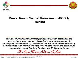 Prevention of Sexual Harassment (POSH) Training