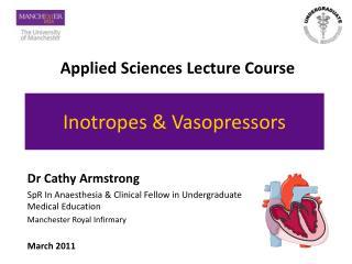 Inotropes & Vasopressors