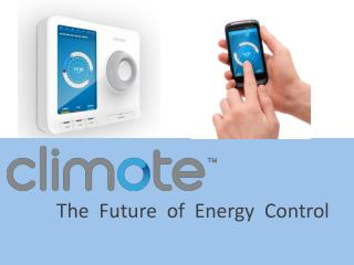 The  Future  of  Energy  Control