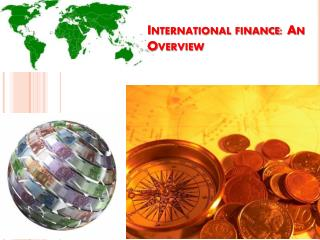 International finance: An Overview